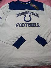 Reebok Men's Indianapolis Colts Long Sleeve Shirt NWT Large