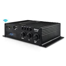 Pyle PFA220BT Bluetooth Mini Blue Series Compact Class-T Amplifier 120W USB