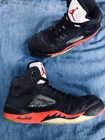 Nike Air Jordan 5 Retro GS Size 6 Youth Satin Bred 440888-006 EXCELLENT Conditio