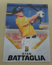 2019/20 Brisbane Bandits(Aussie Baseball) RYAN BATTAGLIA Base - Carolina Mudcats
