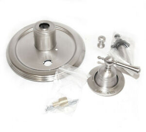 Jado Trim for Pressure Balance Valve w lever Tub & Shower Brushed Nickel