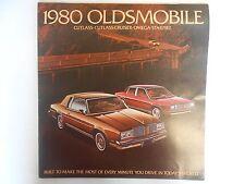 1980 Oldsmobile Starfire/Omega Product Brochure