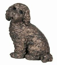 Cockapoo Dog Cold Cast Bronze Ornament - Jasper - Frith Sculpture NEW