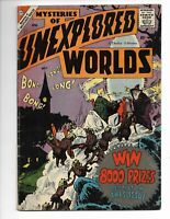 Mysteries of Unexplored Worlds 12 VG- (3.5) 4/59 Charlton! Steve Ditko art!