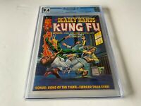 DEADLY HANDS OF KUNG FU 10 CGC 9.4 IRON FIST SHANG CHI SONS TIGER MARVEL COMIC