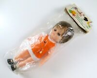 Vintage Old Stock 1960s Larami Corp Wendy Doll, Rooted Hair, Sleeping Eyes, etc.