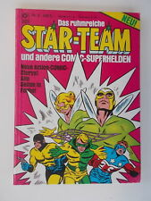 STAR TEAM 1 MINI COMIC PROMO GIVEAWAY PROMOTIONAL RARE ASHCAN IDEAL VF