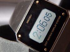 SEIKO RARE GENTS VINTAGE DO31-WORLDS FIRST DOT MATRIX DISPLAY DIGITAL WATCH