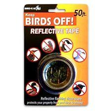 Bird X 1 In. W. x 50 Ft. L. Bird Deterrent Tape