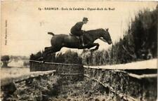 CPA SAUMUR Ecole de Cavalerie Oppen-disch du Breil (606423)