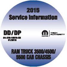 2015 Dodge RAM 3500 4500 5500 Cab Chassis Truck Service Workshop Repair Manual