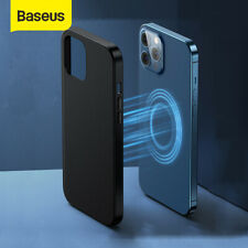 Baseus Magnetic Phone Case Lens Protector Cover PC Shell For iPhone 12 Pro Max