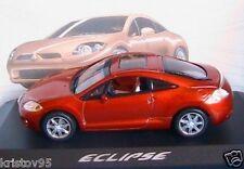MITSUBISHI ECLIPSE GT V6 ORANGE DE 2006 NOREV #800160 1/43 JAPAN CAR DIE CAST