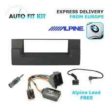 BMW 5 E39 Fitting Kit + Steering Wheel Adaptor CTSBM004.2 Alpine lead
