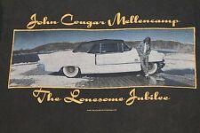 M * vtg 80s 1987 JOHN COUGAR MELLENCAMP  shirt * 5.74
