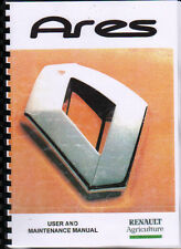 "Renault ""Ares"" Tractor User and Maintenance Manual Book"