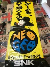 Neo Geo G-Mantle Rental Banner reproduction + (free vinyl small one 9x30cm)