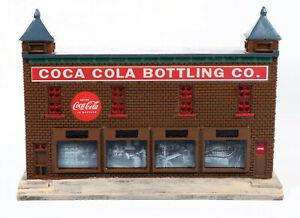Classic Metal Works Traxside 1950-60's Era Bottling Plant (Coca Cola) 1:87 HO Sc