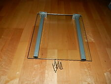 Wandregal Glasregal Glasboden aus Glas 40 cm x 37 cm 7mm Halter Schrauben