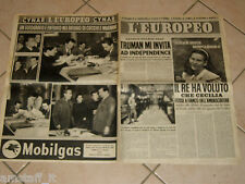 EUROPEO 1951/10=ALDO CUCCHI VALDO MAGNANI=ART CLUB MILANO=TEATRO REGIO PARMA=