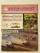 1964 NHRA WINTERNATIONALS ORIGINAL PROGRAM DRAG RACING POMONA, CA TOP FUEL