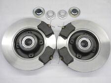 Bremsscheiben mit ABS Bremsbeläge hinten für Citroen C4 Coupe 207 3071,4 1,6 HDi
