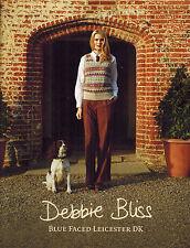 Debbie Bliss Blue Faced Leicester Strickheft Anleitungen Damen Kinder Herren