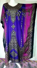 NWT Womens Party Loungewear Hippie Caftan K/Sleeve Kaftan Beach Long Maxi Dress