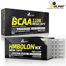 BCAA AMINO ACIDS + HMBOLON - HMB CREATINE ARGININE Anabolic Muscle Builder Pills