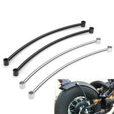 Rear Fender Rail Support Bracket Mount Holder For Harley Cruiser Custom Bobber