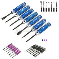 7 pcs Hex Screwdriver Tool Bit Set Accessories For Toy RC Car Helicopter