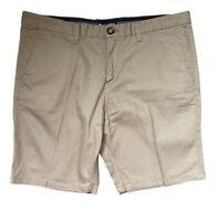 BILLABONG mens Shorts Size 38 Khaki Tan Cotton LIKE NEW pockets EUC Chinos
