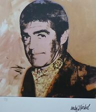 ANDY WARHOL Irving Blum Typ B SIGNED +  HAND NUMBERED 1522/2400 LITHOGRAPH