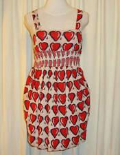 """BNWOT:GORGEOUS SASS&BIDE LOVE HEART COTTON DRESS 44/8 (AUS 14) """"SPIRIT OF HOPE"""""""