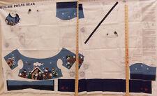 Pattern Fabric Plush Polar Bear Stuffed Animal Craft Instructions Material