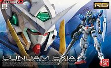 Gundam Exia RG 15 Real Grade 1/144 Model Figure Kit 00 Double 0