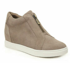 Blondo Glenda Waterproof Sneaker Bootie Mushroom Suede Size 9.5 NEW