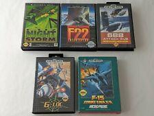 F-15 Strike Eagle, F22 Interceptor, F-117 Night Storm, G-Loc, Sub - Sega Genesis