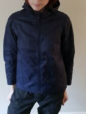 Navy blue M&S 'Indigo Collection' poncho / raincoat – 10-11 yrs – USED
