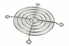 Lüftergitter 80 mm Chrome Fan Grill, Lüftergitter, Kühler Schutz,Silber Standard