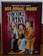 LOS HERMANOS MARX UNA NOCHE EN LA OPERA DVD NUEVO PRECINTADO COMEDIA (SIN ABRIR)