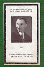 Sterbebild Gefreiter Nachrichten-Abteilung Albanien Tirana 1944 WK2