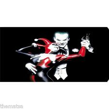 HARLEY QUINN AND JOKER METAL CAR  LICENSE PLATE MADE IN USA