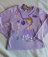 Sofia the first age 3-4 T-shirt Disney Long Sleeve New Genuine