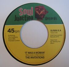 THE INVITATIONS: It Was A Woman (Soul Junction)