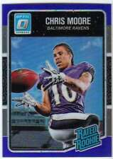 2016 Donruss Optic Rated Rookies Blue Refractor /149 #157 Chris Moore Ravens