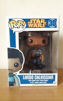 Funko pop Star Wars Rare Lando Calrissian 30 Bobble-Head Free pop protector gift