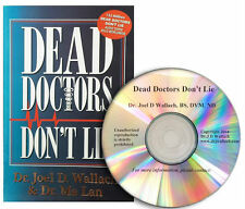 "DEAD DOCTORS DON""T LIE Book By Dr. Joel Wallach with FREE CD Fast Shipping"