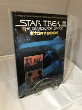 IMPECCABLE CONDITION HARDCOVER Star trek III 3 search for spock storybook