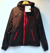 Marmot Women's Arcs Snow Ski Winter Jacket Black Passion Pink Size Medium NEW